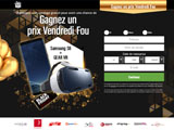 Black Friday Samsung - emailing uniquement