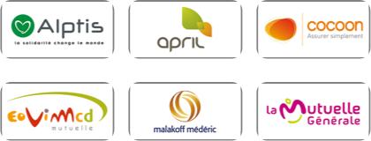 Liste non exhaustive de nos partenaires santé